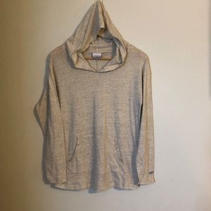 Columbia Cotton long sleeve hooded shirt
